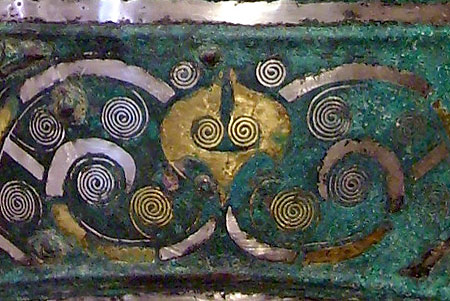 La sculpture chinoise ancienne Cloche-bronze-zhou